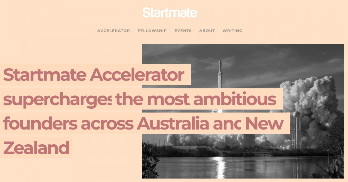 Law on Earth accepted into 2020 Cohort for Startmate